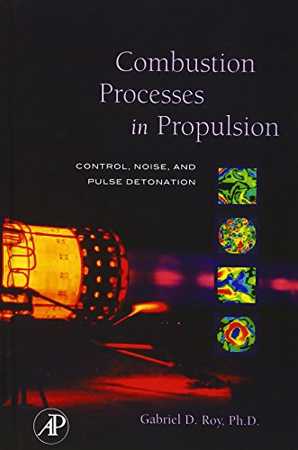 9780123693945: Combustion Processes in Propulsion: Control, Noise, and Pulse Detonation