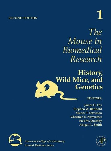 9780123694553: The Mouse in Biomedical Research, Volume 1: History, Wild Mice, and Genetics (American College of Laboratory Animal Medicine)