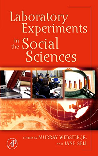 9780123694898: Laboratory Experiments in the Social Sciences