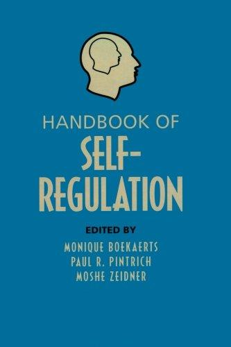 9780123695192: Handbook of Self-Regulation