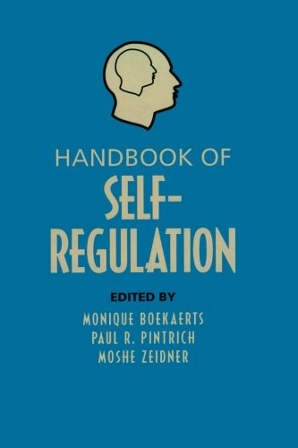 9780123695192: Handbook of Self-Regulation