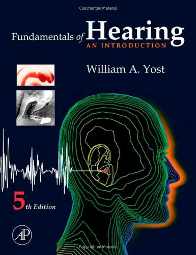9780123704733: Fundamentals of Hearing: An Introduction