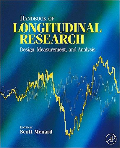 9780123704818: Handbook of Longitudinal Research: Design, Measurement, and Analysis