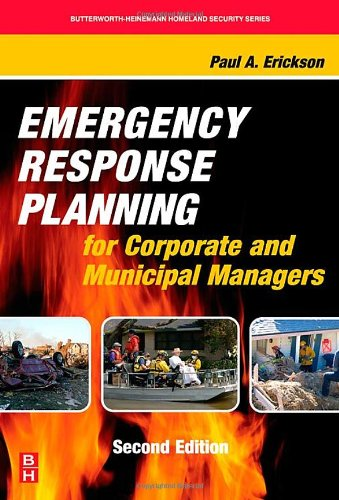 9780123705037: Emergency Response Planning for Corporate and Municipal Managers, Second Edition (Butterworth-Heinemann Homeland Security)