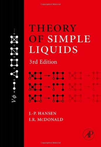 9780123705358: Theory of Simple Liquids