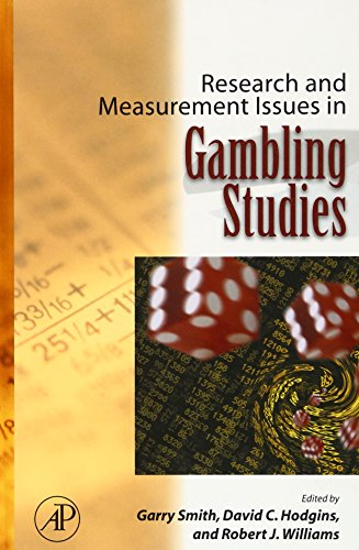 9780123708564: Research and Measurement Issues in Gambling Studies