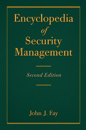 9780123708601: Encyclopedia of Security Management