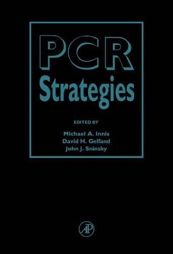 9780123721822: PCR Strategies