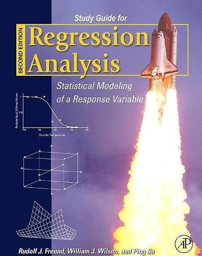 9780123725042: Regression Analysis Study Guide, Second Edition