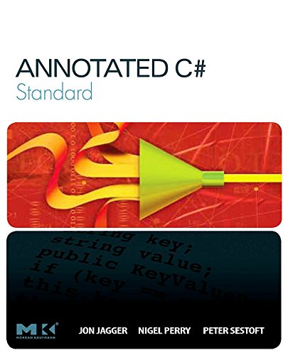 9780123725110: Annotated C# Standard