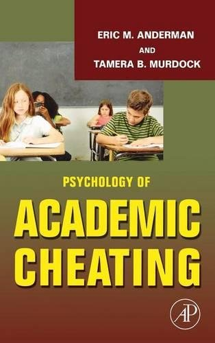 9780123725417: Psychology of Academic Cheating