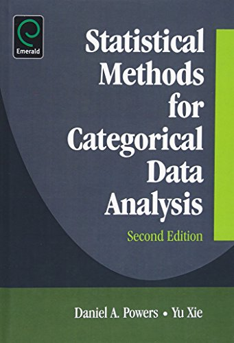 9780123725622: Statistical Methods for Categorical Data Analysis
