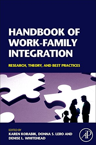 Handbook of Work-Family Integration: Research, Theory, and Best Practices: Daniel W. Van Ness