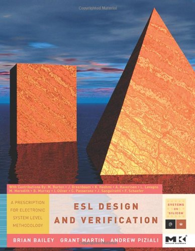 9780123735515: ESL Design and Verification: A Prescription for Electronic System Level Methodology (Systems on Silicon)