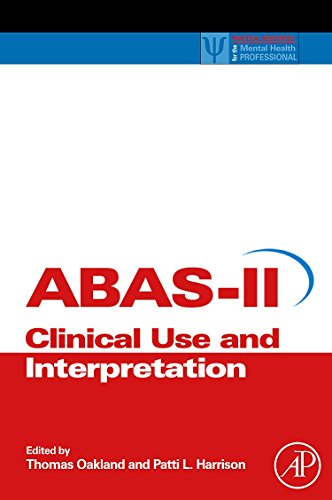 9780123735867: Adaptive Behavior Assessment System-II: Clinical Use and Interpretation (Practical Resources for the Mental Health Professional)
