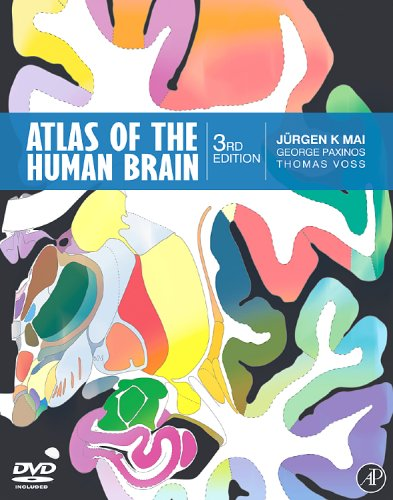 9780123736031: Atlas of the Human Brain, Third Edition