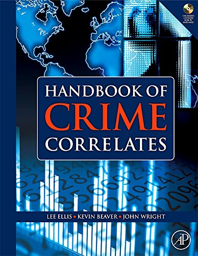 9780123736123: Handbook of Crime Correlates [With CDROM]