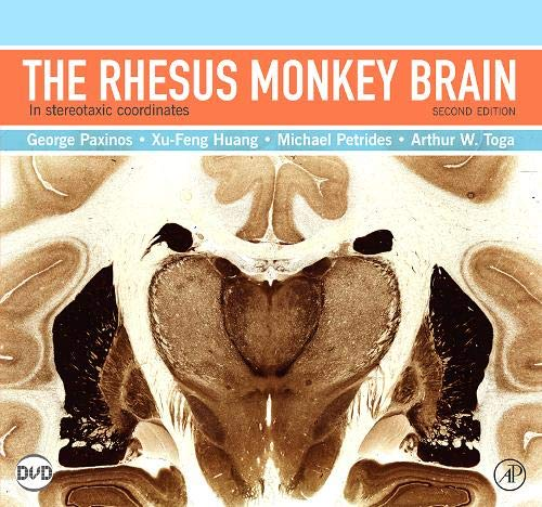 9780123736192: The Rhesus Monkey Brain in Stereotaxic Coordinates