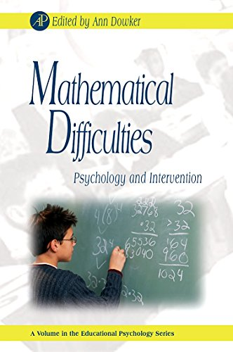 9780123736291: Mathematical Difficulties: Psychology and Intervention (Educational Psychology)