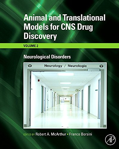 9780123738554: Animal and Translational Models for CNS Drug Discovery, Vol. 2: Neurological Disorders