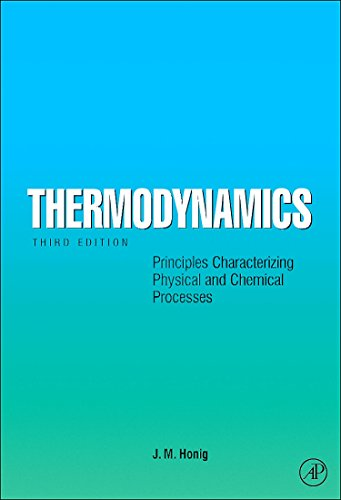 9780123738776: Thermodynamics, Third Edition: Principles Characterizing Physical and Chemical Processes