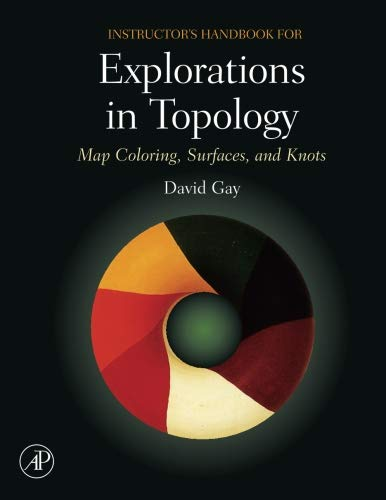 9780123738875: Instructor's Handbook for Explorations in Topology