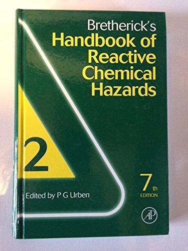 9780123739469: Bretherick's Handbook of Reactive Chemical Hazards : Volume 2 : Seventh Edition