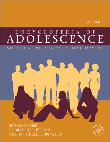 9780123739483: Encyclopedia of Adolescence, Three-Volume Set: Volume 1