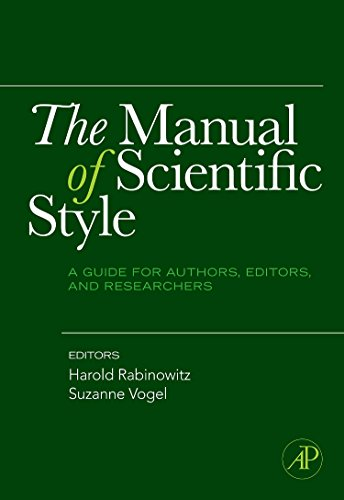 9780123739803: The Manual of Scientific Style: A Guide for Authors, Editors, and Researchers