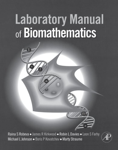 9780123740229: Laboratory Manual of Biomathematics
