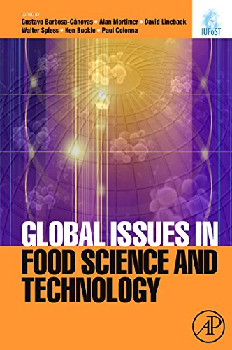9780123741240: Global Issues in Food Science and Technology