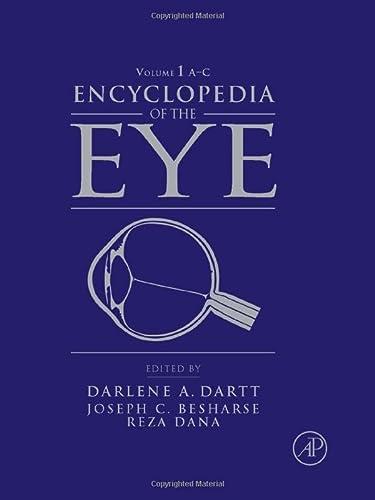 9780123741981: Encyclopedia of the Eye: v. 1-4
