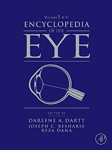 9780123741998: Encyclopedia of the Eye, Four-Volume Set: Volume 1