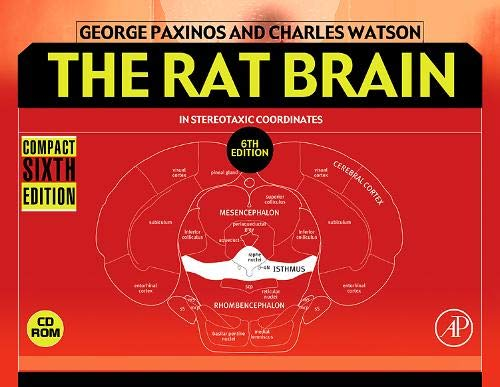 9780123742438: The Rat Brain in Stereotaxic Coordinates