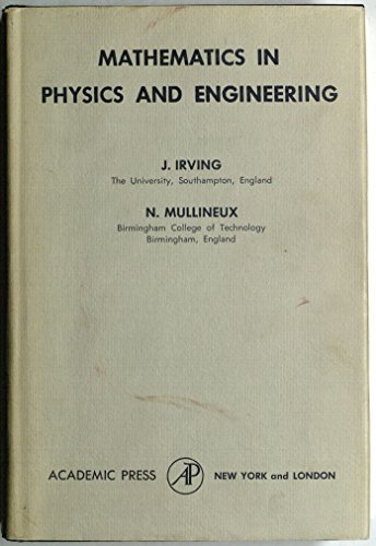 9780123742506: Mathematics in Physics and Engineering (Pure & Applied Physics)