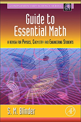 9780123742643: Guide to Essential Math: A Review for Physics, Chemistry and Engineering Students
