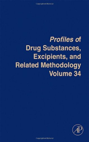 9780123743404: Profiles of Drug Substances, Excipients and Related Methodology, Volume 34 (Analytical Profiles of Drug Substances, Excipients, and Related Methodology)