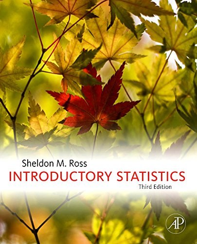9780123743886: Introductory Statistics