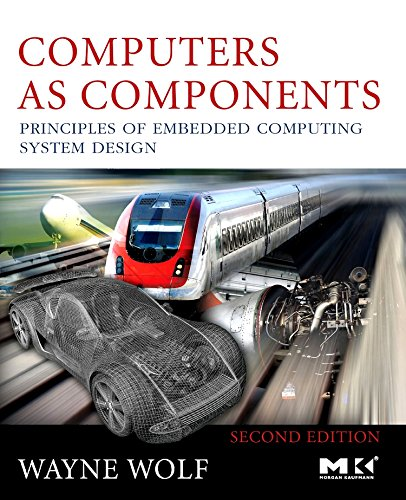 Computers As Components 9780123743978 Computers as Components, Second Edition, updates the first book to bring essential knowledge on embedded systems technology and techniques under a single cover. This edition has been updated to the state-of-the-art by reworking and expanding performance analysis with more examples and exercises, and coverage of electronic systems now focuses on the latest applications. It gives a more comprehensive view of multiprocessors including VLIW and superscalar architectures as well as more detail about power consumption. There is also more advanced treatment of all the components of the system as well as in-depth coverage of networks, reconfigurable systems, hardware-software co-design, security, and program analysis. It presents an updated discussion of current industry development software including Linux and Windows CE. The new edition's case studies cover SHARC DSP with the TI C5000 and C6000 series, and real-world applications such as DVD players and cell phones. Researchers, students, and savvy professionals schooled in hardware or software design, will value Wayne Wolf's integrated engineering design approach. * Uses real processors (ARM processor and TI C55x DSP) to demonstrate both technology and techniques...Shows readers how to apply principles to actual design practice. * Covers all necessary topics with emphasis on actual design practice...Realistic introduction to the state-of-the-art for both students and practitioners. * Stresses necessary fundamentals which can be applied to evolving technologies...helps readers gain facility to design large, complex embedded systems that actually work.