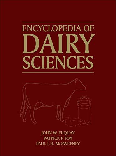 9780123744029: Encyclopedia of Dairy Sciences