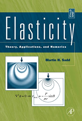 9780123744463: Elasticity: Theory, Applications, and Numerics