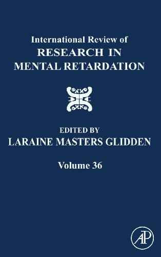 International Review of Research in Mental Retardation, Volume 36