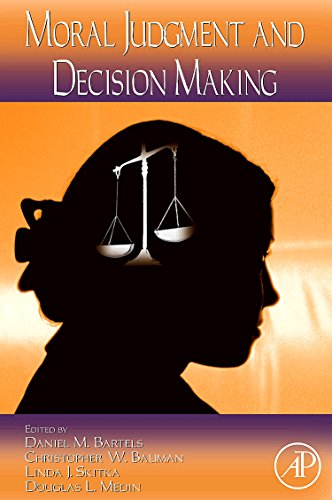 9780123744883: Moral Judgment and Decision Making: 50