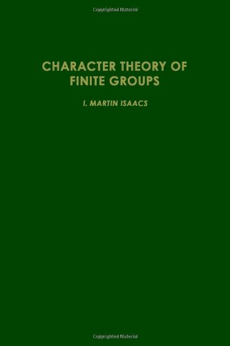 9780123745507: Character Theory of Finite Groups (Pure and applied mathematics)