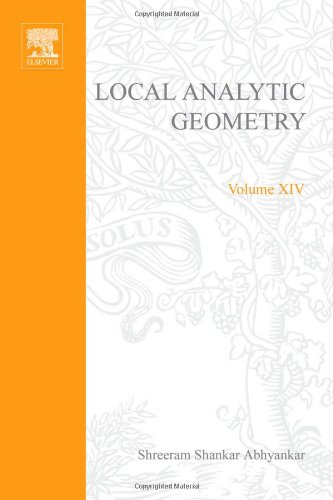 9780123745644: Local Analytic Geometry