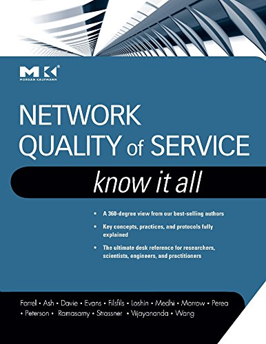 9780123745972: Network Quality of Service Know It All (Morgan Kaufmann Know It All)