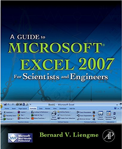 9780123746238: A Guide to Microsoft Excel 2007 for Scientists and Engineers