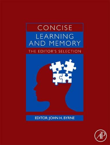 9780123746276: Concise Learning and Memory: The Editor's Selection
