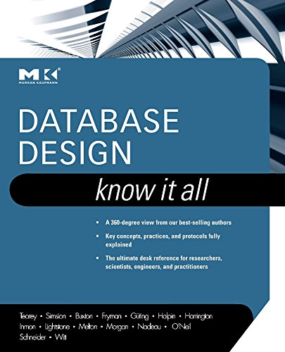 9780123746306: Database Design: Know It All