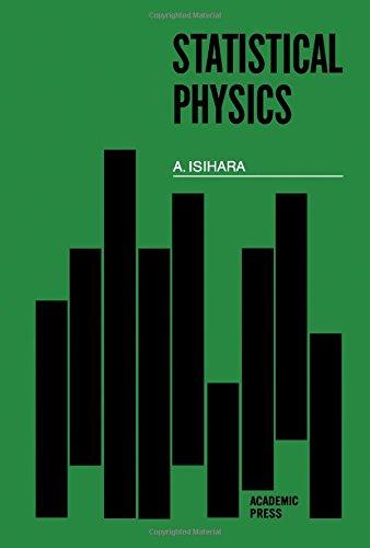 Statistical Physics: Isihara, Akira